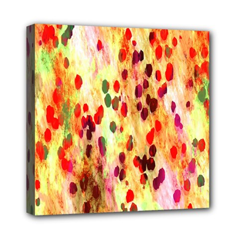 Background Color Pattern Abstract Mini Canvas 8  x 8