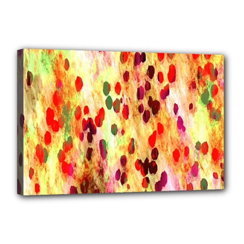 Background Color Pattern Abstract Canvas 18  x 12