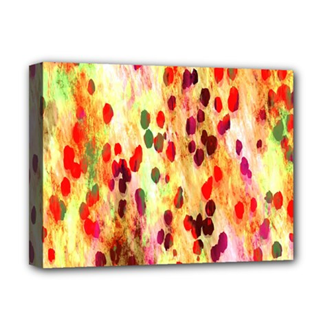 Background Color Pattern Abstract Deluxe Canvas 16  x 12