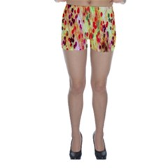 Background Color Pattern Abstract Skinny Shorts