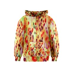 Background Color Pattern Abstract Kids  Zipper Hoodie