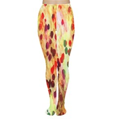 Background Color Pattern Abstract Women s Tights