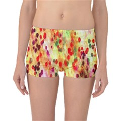 Background Color Pattern Abstract Boyleg Bikini Bottoms