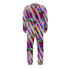 Multi Color Wave Abstract Pattern OnePiece Jumpsuit (Kids)