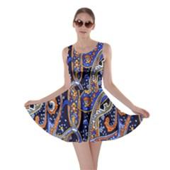 Pattern Color Design Texture Skater Dress