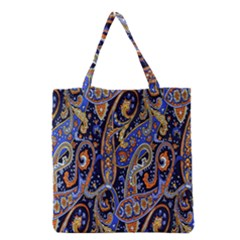 Pattern Color Design Texture Grocery Tote Bag