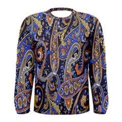 Pattern Color Design Texture Men s Long Sleeve Tee