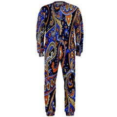 Pattern Color Design Texture OnePiece Jumpsuit (Men)
