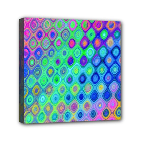 Background Texture Pattern Colorful Mini Canvas 6  x 6