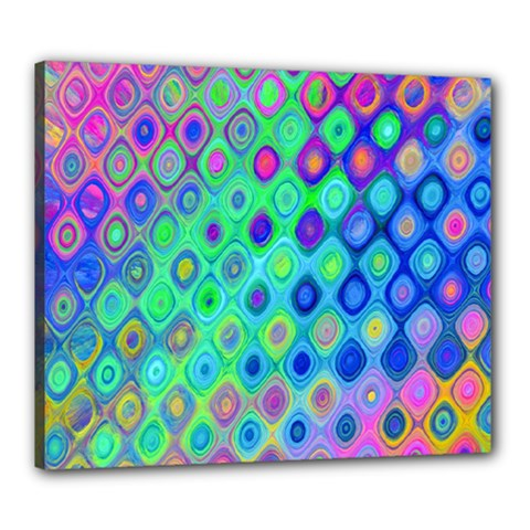 Background Texture Pattern Colorful Canvas 24  X 20
