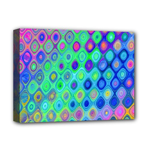 Background Texture Pattern Colorful Deluxe Canvas 16  x 12