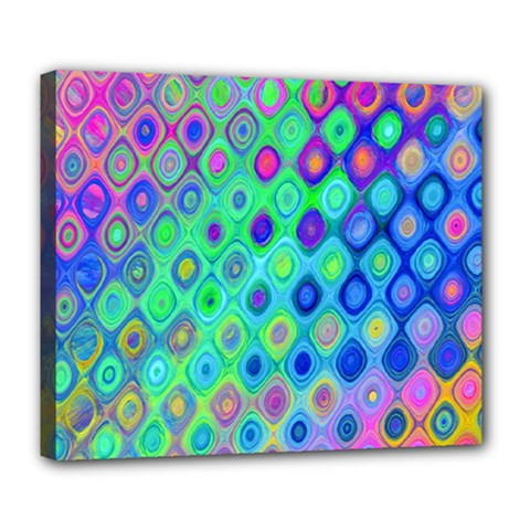 Background Texture Pattern Colorful Deluxe Canvas 24  X 20
