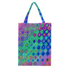 Background Texture Pattern Colorful Classic Tote Bag