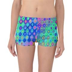 Background Texture Pattern Colorful Boyleg Bikini Bottoms