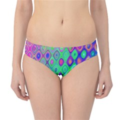 Background Texture Pattern Colorful Hipster Bikini Bottoms