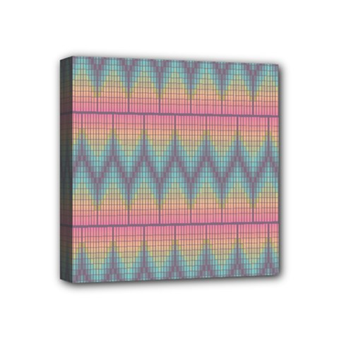 Pattern Background Texture Colorful Mini Canvas 4  x 4