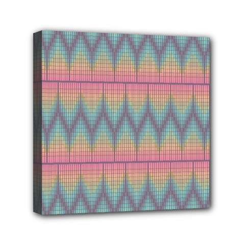 Pattern Background Texture Colorful Mini Canvas 6  x 6