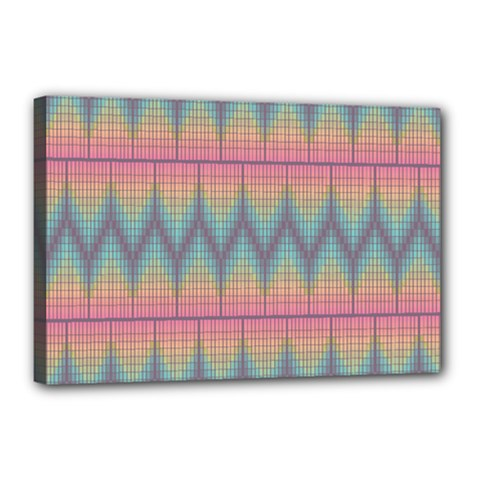 Pattern Background Texture Colorful Canvas 18  x 12