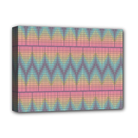 Pattern Background Texture Colorful Deluxe Canvas 16  x 12