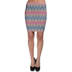 Pattern Background Texture Colorful Bodycon Skirt