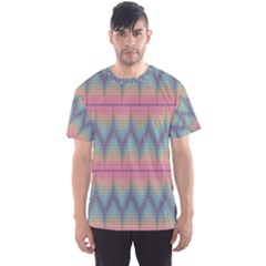 Pattern Background Texture Colorful Men s Sport Mesh Tee