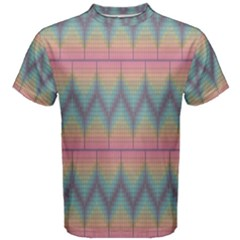 Pattern Background Texture Colorful Men s Cotton Tee