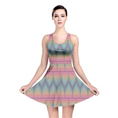 Pattern Background Texture Colorful Reversible Skater Dress