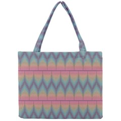 Pattern Background Texture Colorful Mini Tote Bag