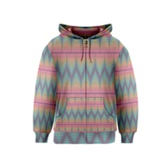 Pattern Background Texture Colorful Kids  Zipper Hoodie