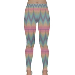 Pattern Background Texture Colorful Classic Yoga Leggings