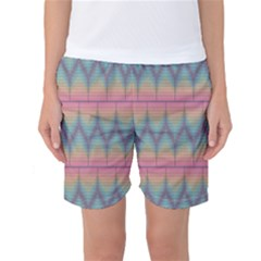 Pattern Background Texture Colorful Women s Basketball Shorts