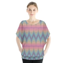 Pattern Background Texture Colorful Blouse