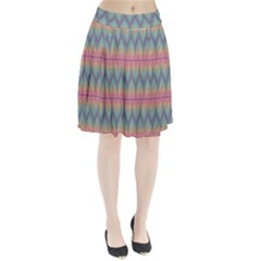 Pattern Background Texture Colorful Pleated Skirt