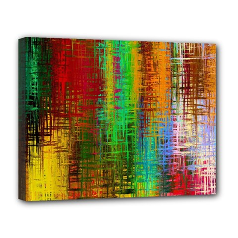 Color Abstract Background Textures Canvas 14  X 11