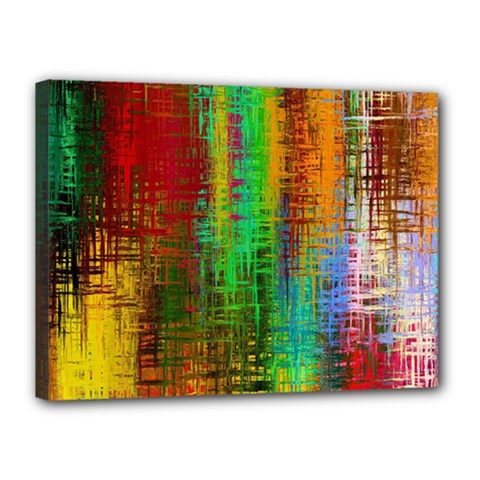 Color Abstract Background Textures Canvas 16  x 12