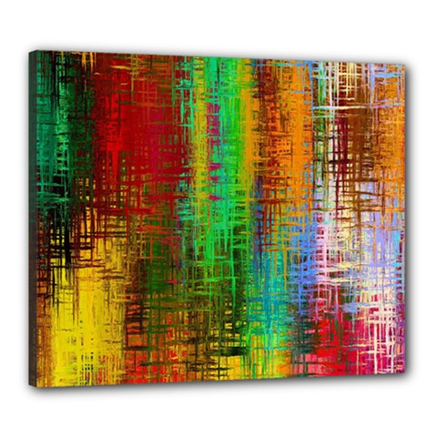 Color Abstract Background Textures Canvas 24  X 20