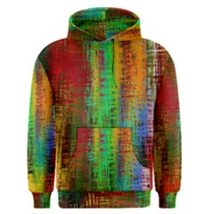 Color Abstract Background Textures Men s Pullover Hoodie