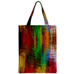 Color Abstract Background Textures Zipper Classic Tote Bag