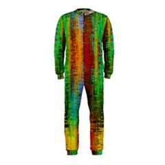 Color Abstract Background Textures Onepiece Jumpsuit (kids)