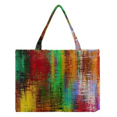 Color Abstract Background Textures Medium Tote Bag
