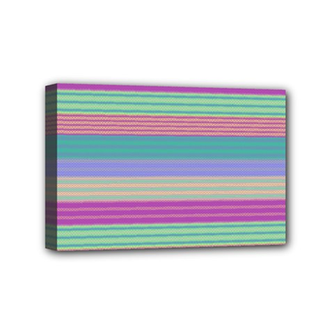 Backgrounds Pattern Lines Wall Mini Canvas 6  X 4