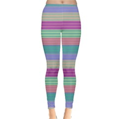 Backgrounds Pattern Lines Wall Leggings