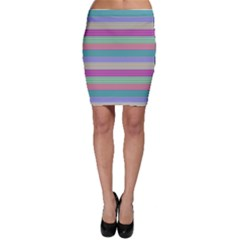 Backgrounds Pattern Lines Wall Bodycon Skirt