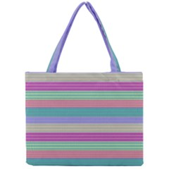 Backgrounds Pattern Lines Wall Mini Tote Bag