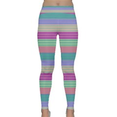 Backgrounds Pattern Lines Wall Classic Yoga Leggings