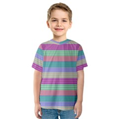Backgrounds Pattern Lines Wall Kids  Sport Mesh Tee