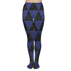 TRI3 BK-MRBL BL-LTHR Women s Tights