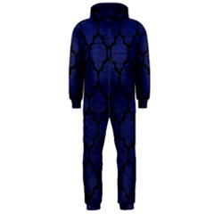 TIL1 BK-MRBL BL-LTHR (R) Hooded Jumpsuit (Men)