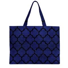 TIL1 BK-MRBL BL-LTHR (R) Large Tote Bag