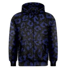SKN5 BK-MRBL BL-LTHR (R) Men s Zipper Hoodie